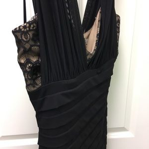 MaxandCleo Little Black Lace Cocktail Dress